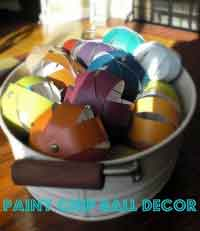 fun paint chip balls