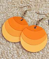 Paint Chip Ombre Earrings Tutorial