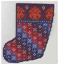 Caron Stocking Ornament