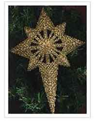 Star Tree Topper Free PC Pattern