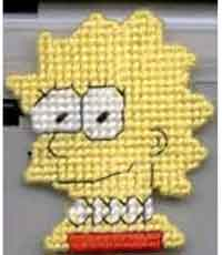 Lisa Simpson Pattern