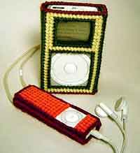 Plastic Canvas Cozy For Your Ipod