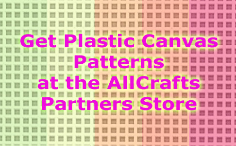 Plastic canvas patterns for sale