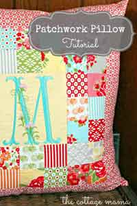 Easy Patchwork Pillow
