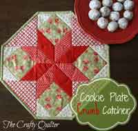 Cookie Plate Crumb Catcher