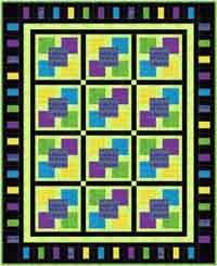5 Square quilt Tutorial