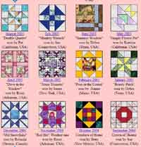 Sew Quiltys Blocks