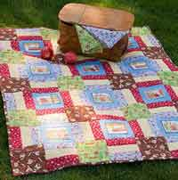 Lake Time Picnic Throw