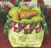 Quilted Harvest Basket