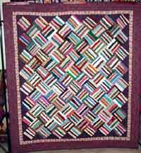Basket Weave Strings Quilt