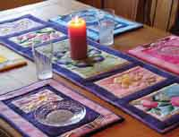 Spring Table Runner and Placemats