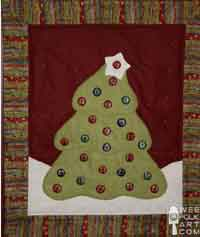 Wool Felt Applique Advent Calendar