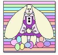 Easter Bunny Block