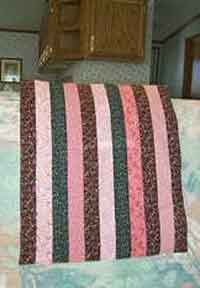 Strip Doll Quilt