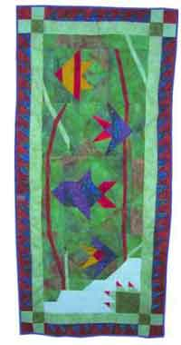 Tropical Fish Wall Hanging