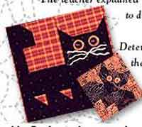 Cats and Bats Quilt Blocks