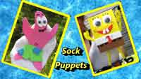 How To Make Spongebob and Patrick Sock Puppets