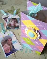 Scrapbook Photo Tag Book Tutorial