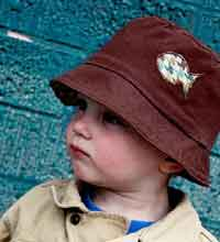 Reversible Toddler Bucket Hat Pattern