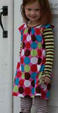 Simple summer dress pattern toddler jacket