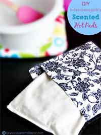 DIY Interchangeable Scented Hot Pads