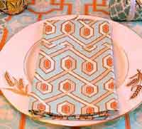 Thanksgiving Arts & Crafts Style Napkins