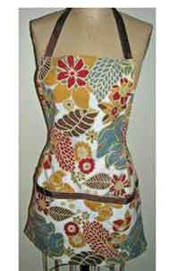 Apron from Two Colorful Napkins