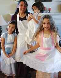 Aprons from Tablecloth
