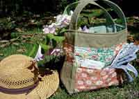 Garden Tote Sewing Tutorial