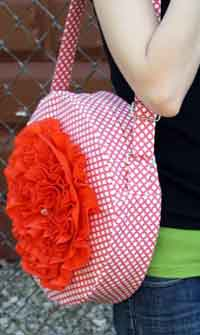 Red Poppy Bag