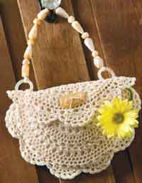 Darling Doily Purse