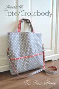 Reversible Tote/Cross-body Bag Tutorial
