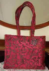 Bag from Furnishing Fabric