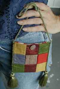 Nine Patch Mini Purse