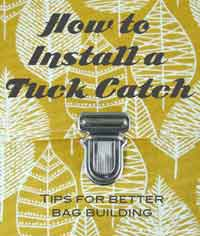 How to Install a Tuck Catch