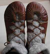 iron age shoes: a tutorial
