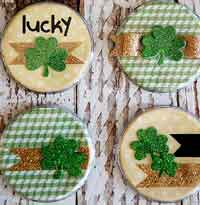 St. Patricks Day Buttons