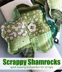 St. Patrick's Day Scrappy Shamrock Tutorial