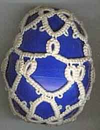 Blue Bow Egg