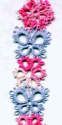 Flower And Butterfly Bookmark