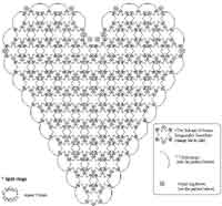 Heart Shaped Doily