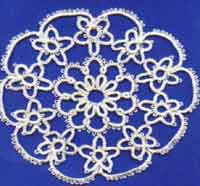 Star Spangled Doily