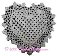 Heart Mini Doily
