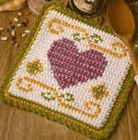 Heart Pot Holder