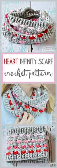 Over 300 Free Crocheted Scarf Patterns At Allcrafts