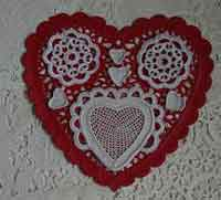 Big/Little Applique Hearts