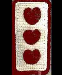 Heart Bookmark #2