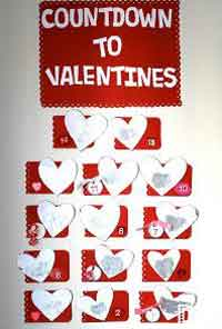 Scratch-Off Valentines Countdown