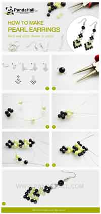 How to make pearl earrings