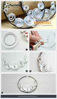 how to make your own hoop earrings more prominent
